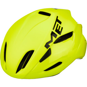 MET Manta Fietshelm, safety yellow